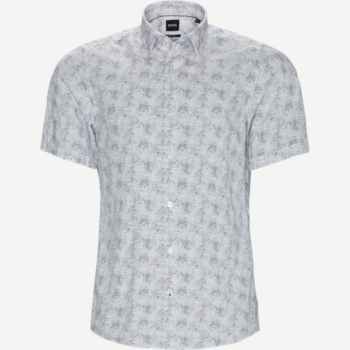 Luka_F Kortærmet Skjorte - Kortærmede skjorter - Regular - Hvid