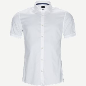 Ronn_2 Kortærmet Skjorte Slim   Ronn_2 Kortærmet Skjorte   Hvid