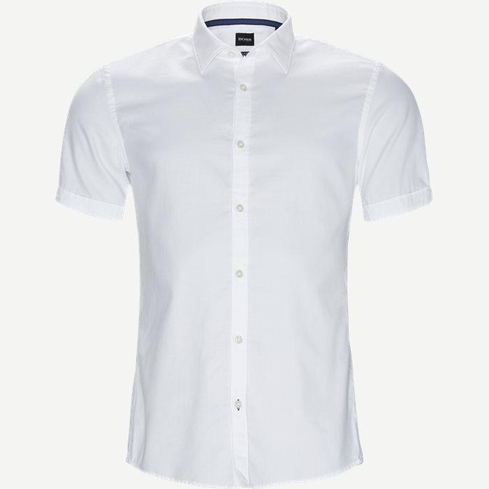 Ronn_2 Kortærmet Skjorte - Kortærmede skjorter - Slim - Hvid