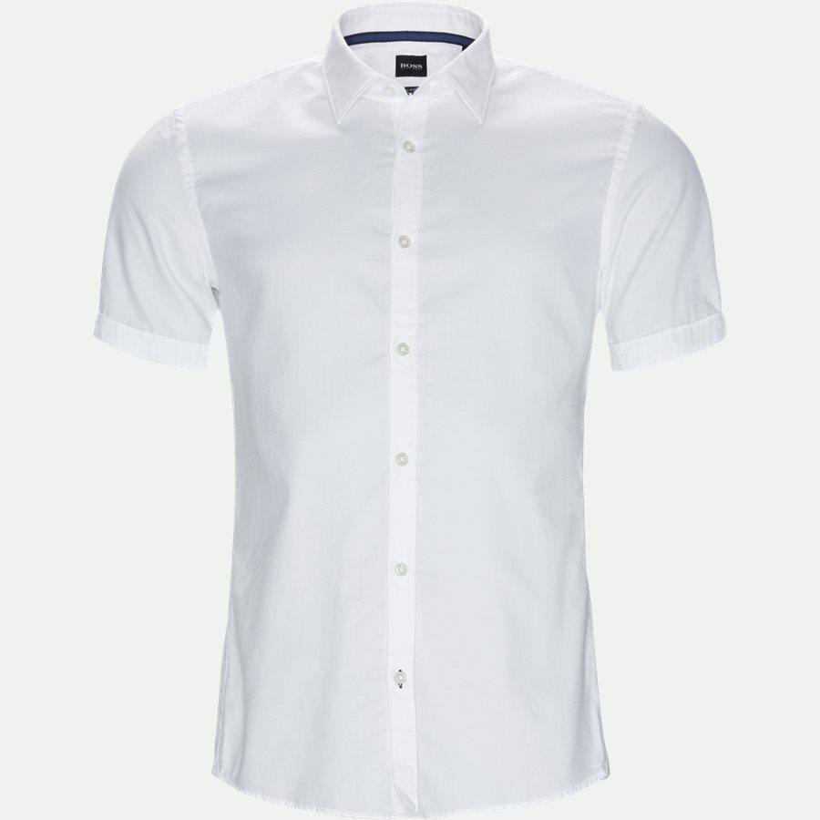 50406675 RONN_2 - Ronn_2 Kortærmet Skjorte - Skjorter - Slim - HVID - 1