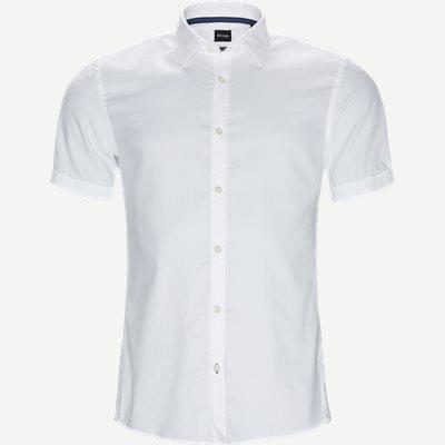 Ronn_2 Kortærmet Skjorte Slim | Ronn_2 Kortærmet Skjorte | Hvid