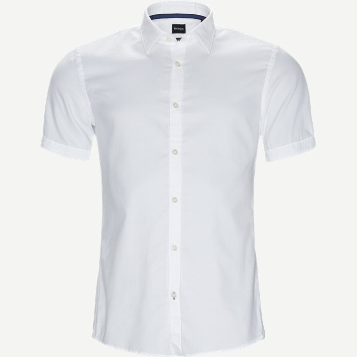 Shirt-sleeved shirts - Slim - White