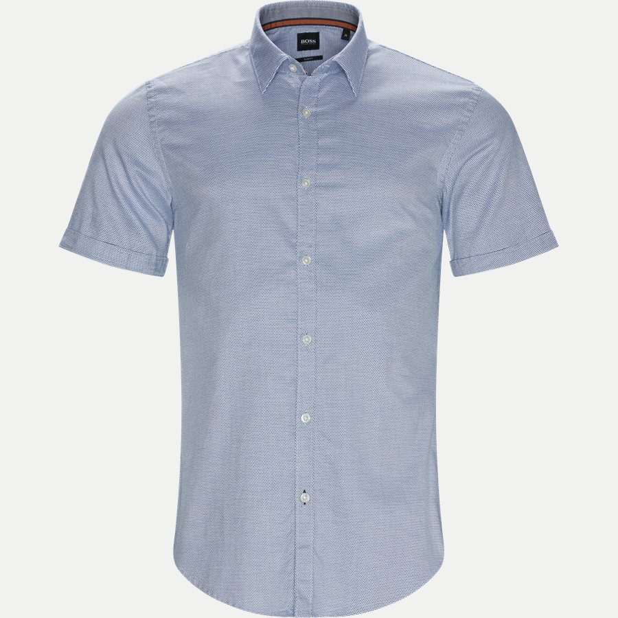 50406675 RONN_2 - Ronn_2 Kortærmet Skjorte - Skjorter - Slim - NAVY - 1