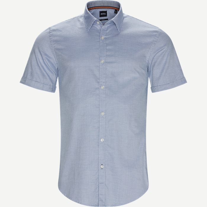 Shirt-sleeved shirts - Slim - Blue