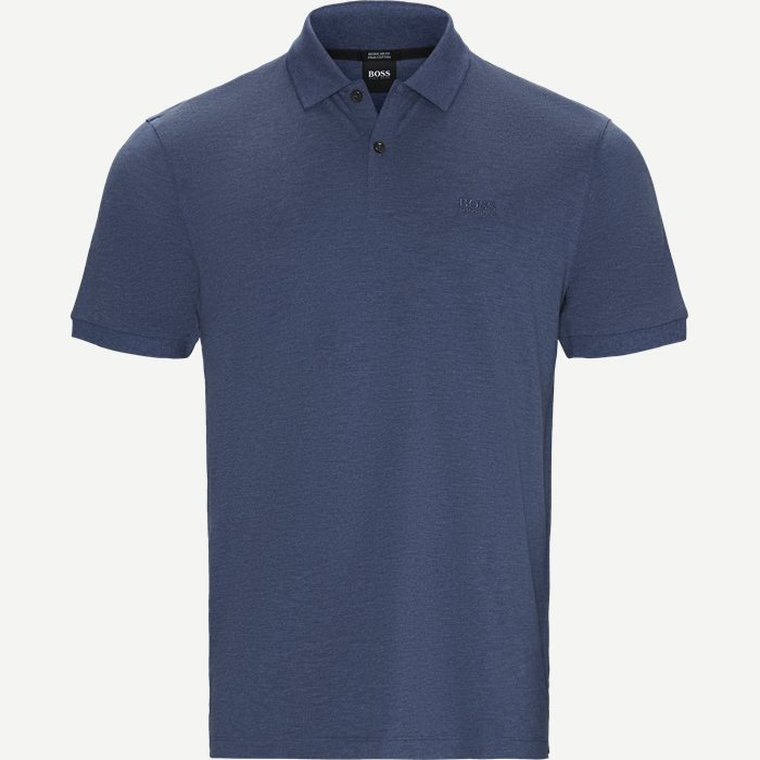 Pallas Polo T-shirt - T-shirts - Regular - Denim