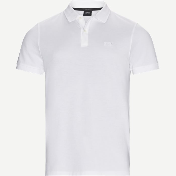 Pallas Polo T-shirt - T-shirts - Regular - Hvid