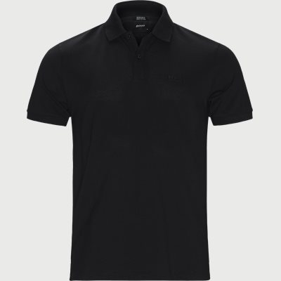 Pallas Polo T-shirt Regular | Pallas Polo T-shirt | Sort