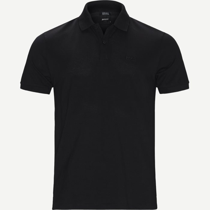 Pallas Polo T-shirt - T-shirts - Regular - Sort