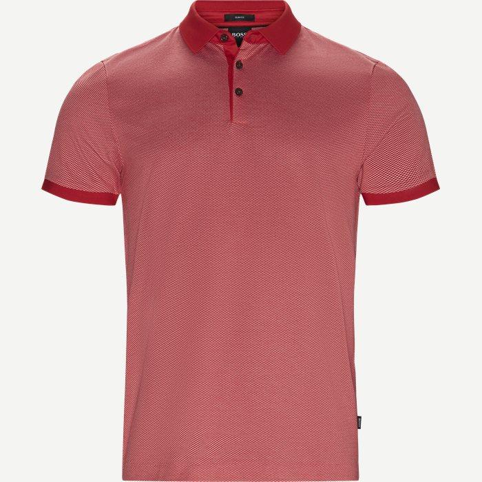 Penrose20 Polo T-shirt - T-shirts - Slim - Rød