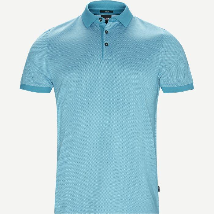 T-Shirts - Slim - Türkis