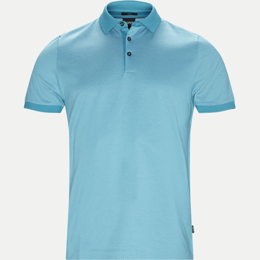 50402362 PENROSE 20 - Penrose20 Polo T-shirt - T-shirts - Slim - TURKIS - 1