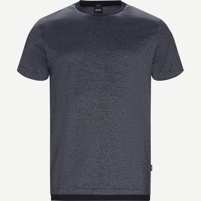 Tessler111 T-shirt - T-shirts - Slim - Blå