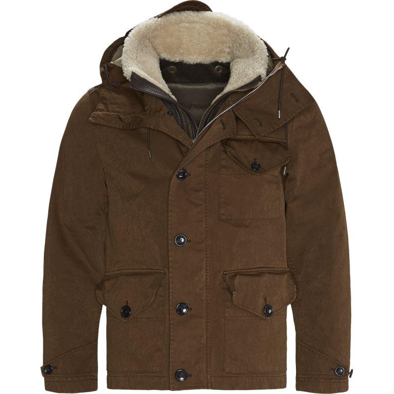 ten c Ten c 15ctcub04006 002105 navy+13ctud03012 002575 liner jakker brown fra axel.dk
