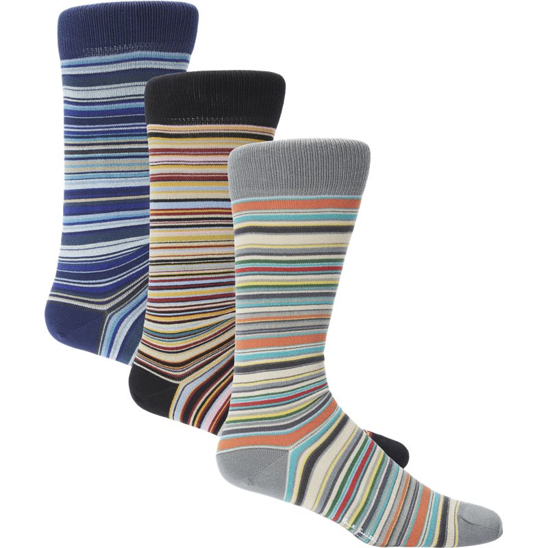 Paul smith accessories sock apackm strømper multi fra paul smith accessories på axel.dk