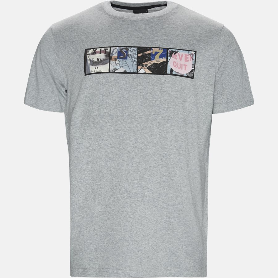 11R AP1027 - T-shirts - L.GREY - 1