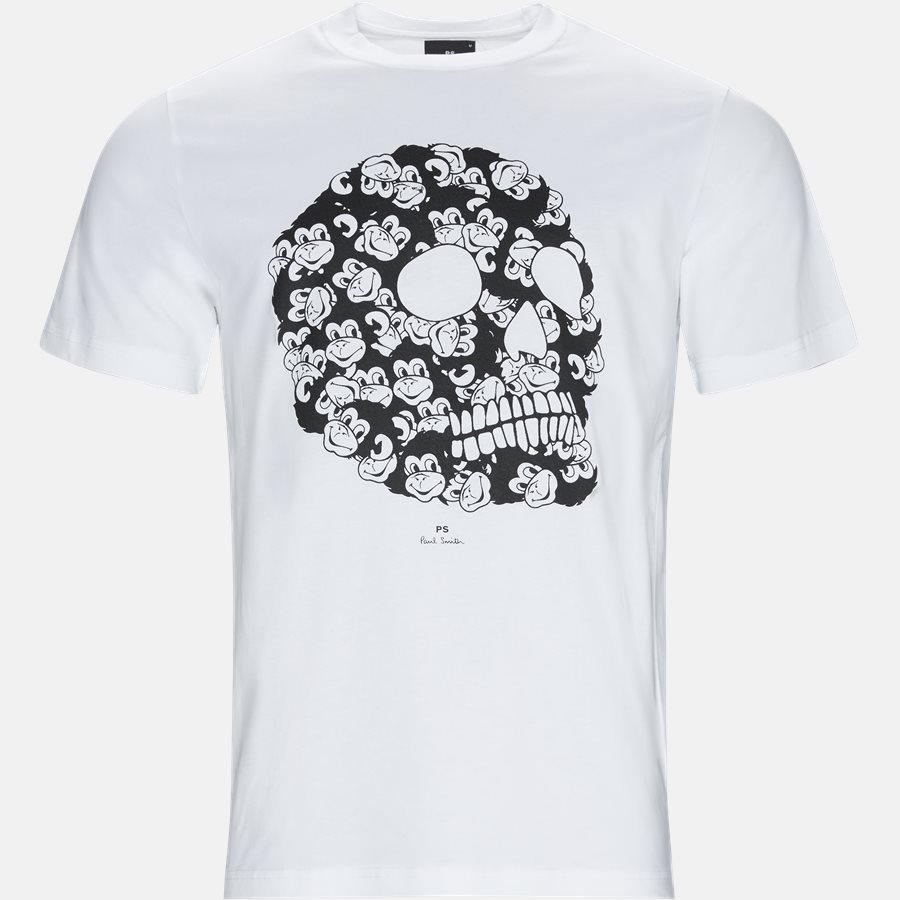011R AP1059 - T-shirts - Regular fit - WHITE - 1
