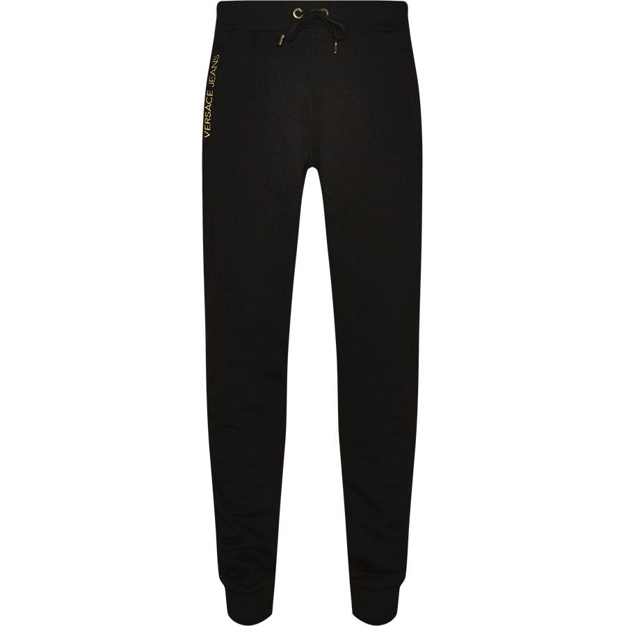 6f50a7efa58 A2GSB1FC36604899 - Sweatpants - Bukser - Regular - SORT - 1. Versace Jeans