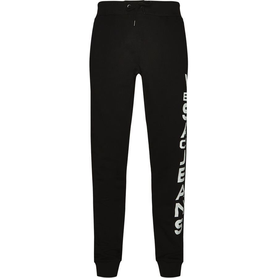 66ebe8d1f21 A2GSB1F336604899 - A2GSB1F - Bukser - Regular - SORT - 1. Versace Jeans