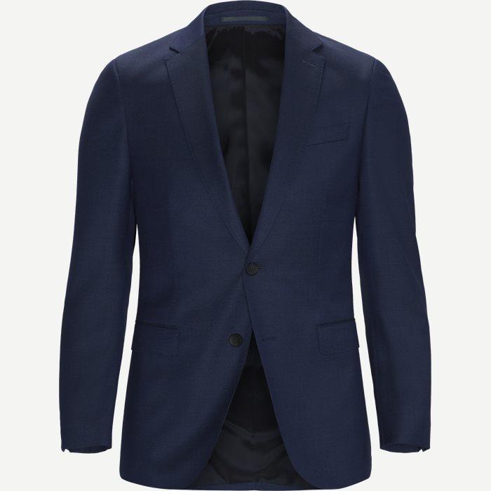 Novan 6 Blazer - Blazer - Slim - Blå