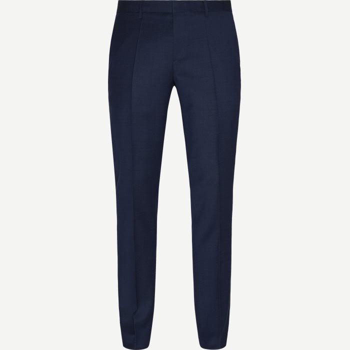 Ben2 Bukser - Bukser - Slim - Blå