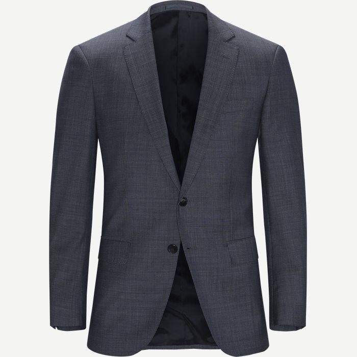 Hugo6 Blazer - Blazer - Slim - Blå