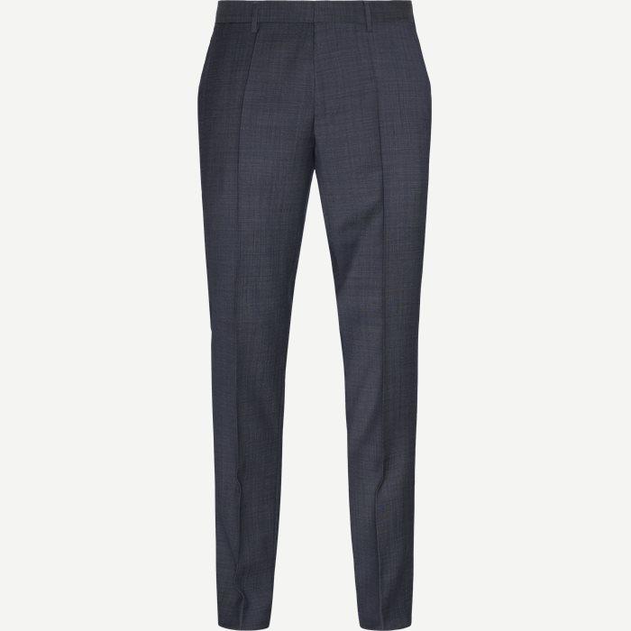 Genius5 Bukser - Bukser - Slim - Blå