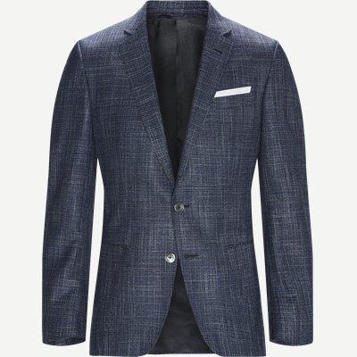 Hutsons4 Blazer Regular | Hutsons4 Blazer | Blå