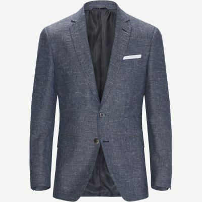 Hudson4 Blazer Slim | Hudson4 Blazer | Blå