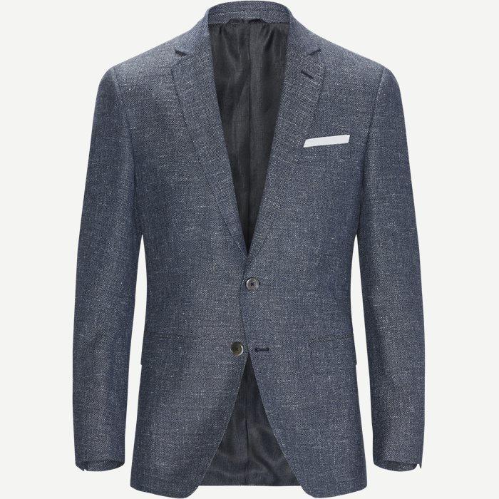 Hudson4 Blazer - Blazer - Slim - Blå