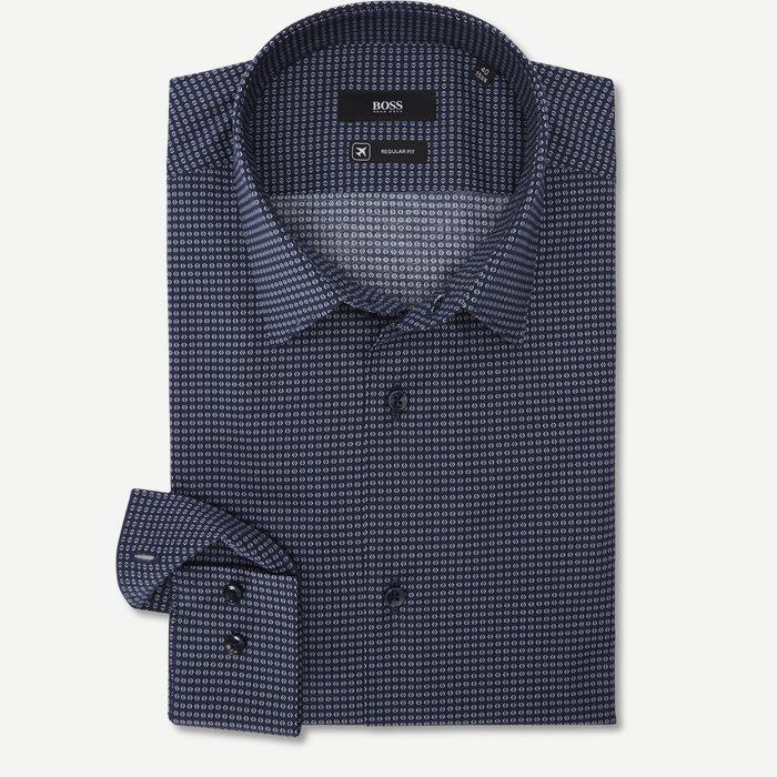 Eliott Skjorte - Skjorter - Regular - Blå