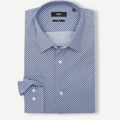 Isko Skjorte Slim | Isko Skjorte | Blå