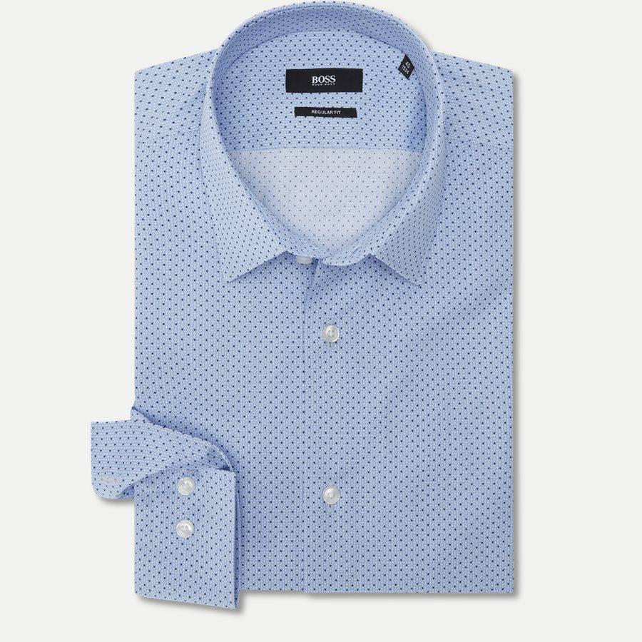 50404852 ELIOTT - Eliott Skjorte - Skjorter - Regular - BLÅ - 1