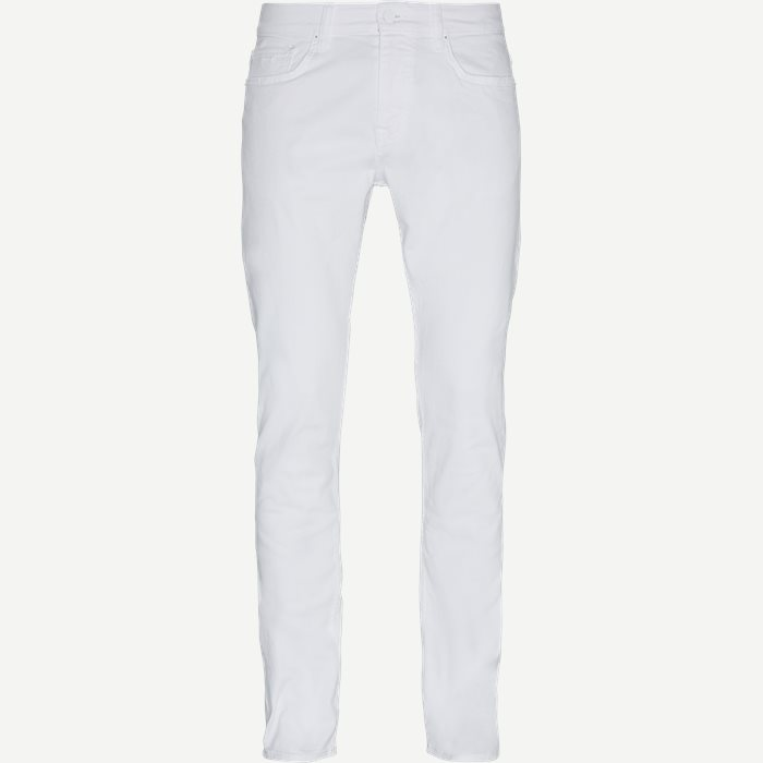 Jeans - Slim - Vit