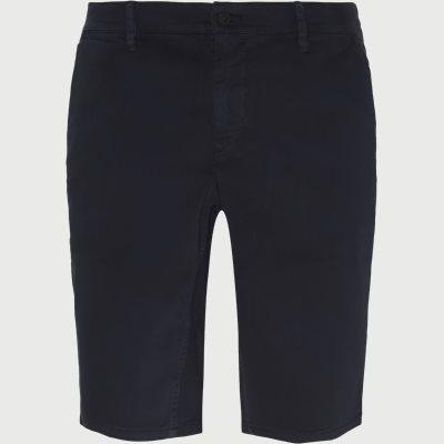 Slim | Shorts | Blau