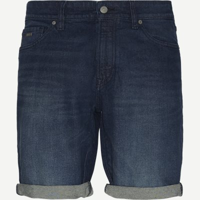 Maine Face Shorts Regular | Maine Face Shorts | Denim