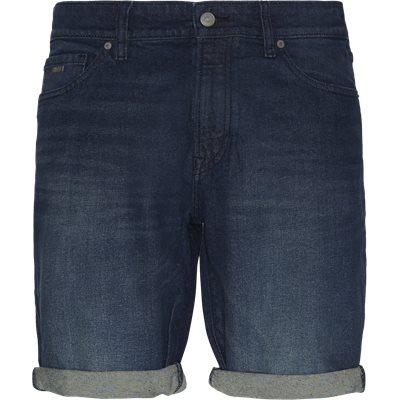 Maine Face Shorts Regular | Maine Face Shorts | Denim