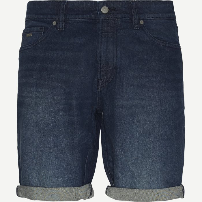 Maine Face Shorts - Shorts - Regular - Denim