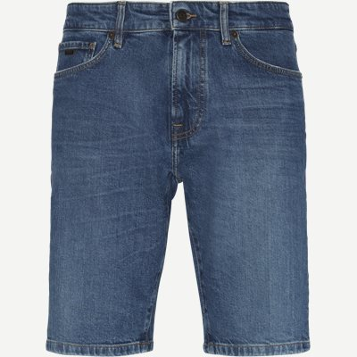 Regular | Shorts | Jeans-Blau