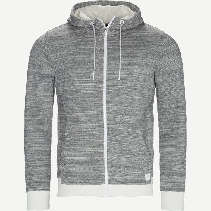 Zpatch Hoodie - Sweatshirts - Regular - Grå