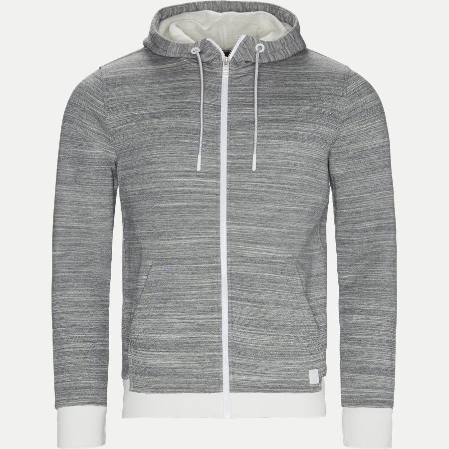 50402236 CP ATCH - Zpatch Hoodie - Sweatshirts - Regular - GRÅ - 1