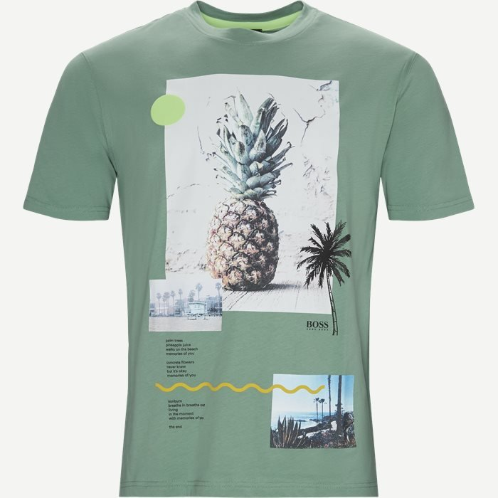 Teecher3 T-shirt - T-shirts - Relaxed fit - Grøn