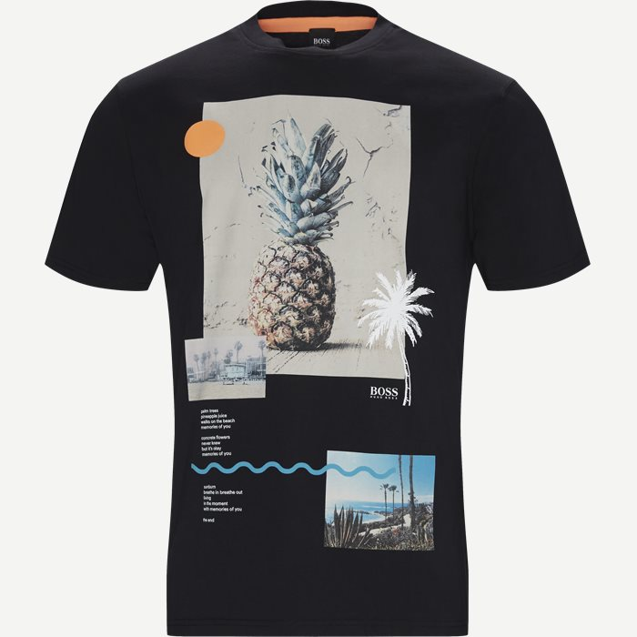 T-shirts - Relaxed fit - Svart