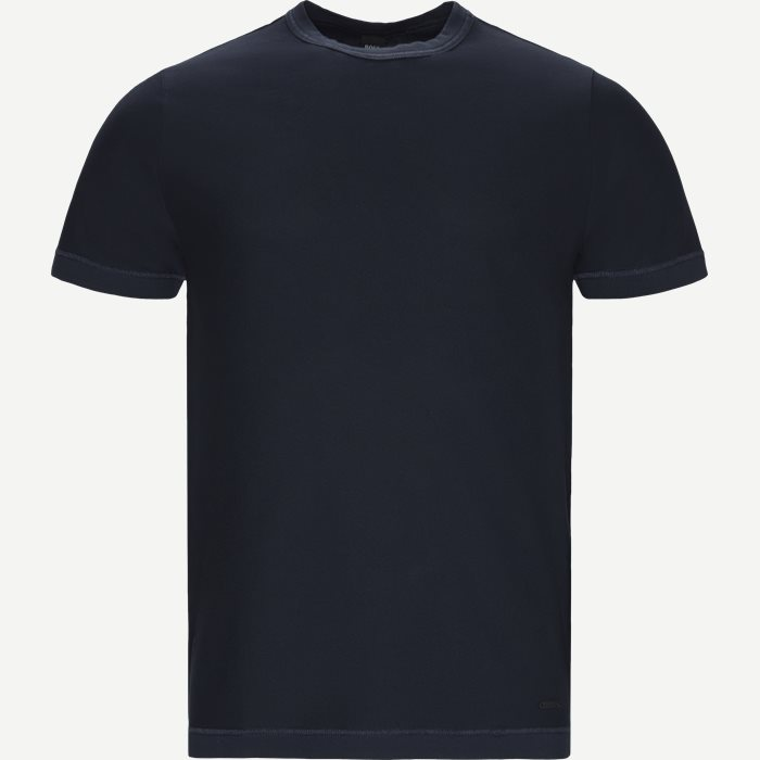 T-shirts - Relaxed fit - Blå