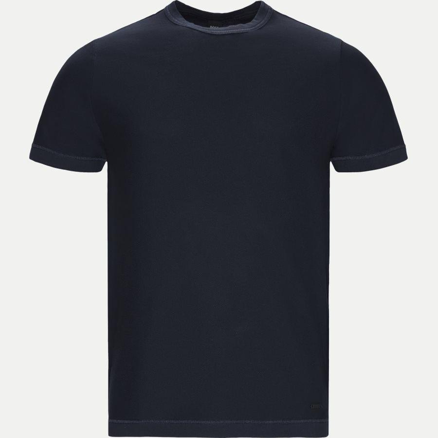 50402332 TFOLD - Tfold T-shirt - T-shirts - Relaxed fit - NAVY - 1