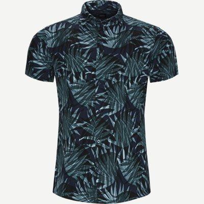 Rash Kortærmet Skjorte Regular | Rash Kortærmet Skjorte | Grøn