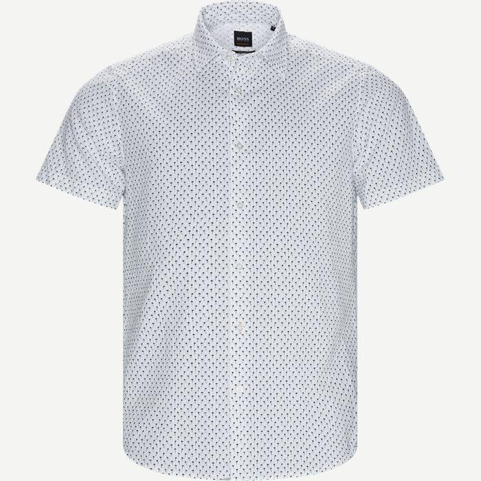 Rash Kortærmet Skjorte - Kortærmede skjorter - Regular - Hvid