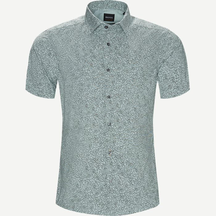 Rash Kortærmet Skjorte - Kortærmede skjorter - Regular - Grøn