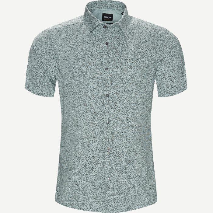 Short-sleeved shirts - Regular - Green