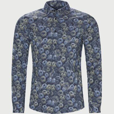 Mypop Skjorte Slim | Mypop Skjorte | Blå