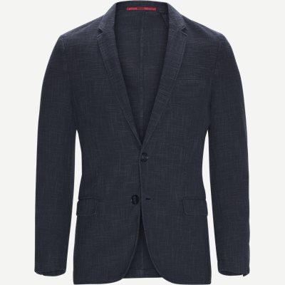 Anfred192D Blazer Regular | Anfred192D Blazer | Blå